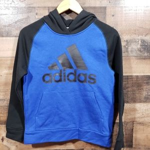 Adidas NWT hooded sweatshirt with large logo